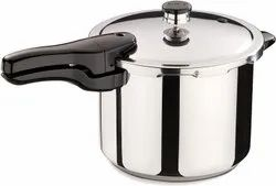 Round Presto Stainless Steel Pressure Cooker, For Home, Capacity: 6 Quarts (5.7 Liters)