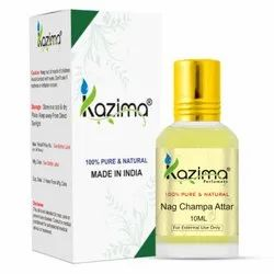 KAZIMA Pure Natural Nag Champa Attar