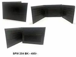 Style Factor Mens Black Wallet