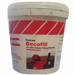 Fosroc Decofill Acrylic Crack Filling Sealant
