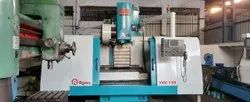 Used And Old Make Agma VCM 158 CNC Vertical Machine Center Year 2003
