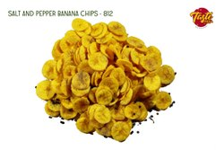 Taste India 812 Salted Pepper Banana Chips, Packaging Type: Packet, Packaging Size: 1 Kg