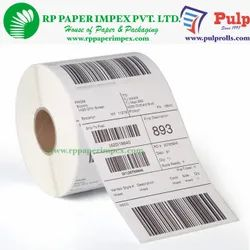 PULP Direct Thermal Labels 100 x 75 mm (4 x 3 inch), 1 Up Chromo DT100x75x1