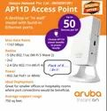 Aruba Instant ON AP11D (Pack of 9 Offer- Get 1 Device absolutely free)