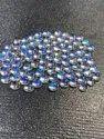 100% Natural Rainbow Moonstone Cabochon, 6mm Round Moonstone Cabochon, Eye Clean Moonstone Gemstone