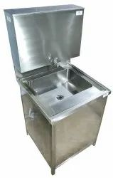 MFG. Hand Wash Cabinet, For Commercial, Top Loading