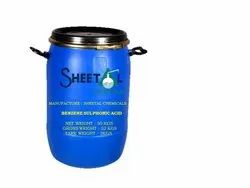 Benzene Sulphonic Acid, Packaging Type: Drum, Packaging Size: 50 Kg