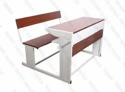 Stainless Steel School College Furniture Observer - Double Senior