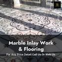 300 Sq Ft Marble Inlay Work, In Pan India