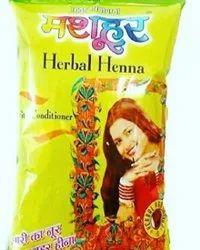 170 Grams Mashhoor Herbal Henna Powder, For Useful For Hair And Hands, Packaging Type: Packet