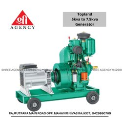 Topland 7.5KVA Diesel Engine Generator Set