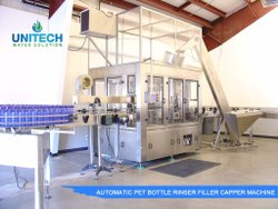 Rotary Pet Bottle Filling Machine (Capacity: 6000 - 80000 Bottles/hr)