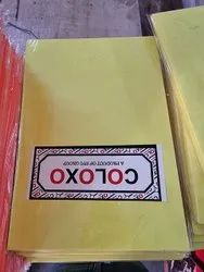 Floroscent A4 Colour Paper, For Arts & Crafts, Packaging Type: 100