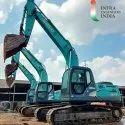 Kobelco SK210 hydraulic excavator