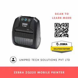 Zebra ZQ220 Mobile Receipt and Label Printer
