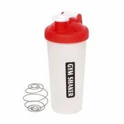 600ml Gym Shaker Plastic Bottle