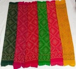 Peinted Multicolor Wetless Printed Designer Sarees, 6 m (with blouse piece)