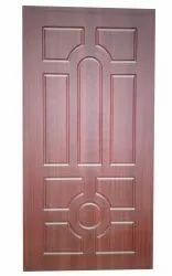Brown 30 mm Membrane Doors, For Home, Door Height: 8 Feet