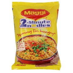 Pouch Wheat Flour Maggi 2 Minute Noodles, Packaging Size: 70 Grams