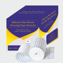 White Adhesive Stretch Non Woven Dressing Tape