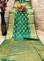 Banarasi Lichi Jequred Silk
