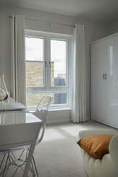 White 6 x 4 Ft UPVC Hinged Window, Glass Thickness: 5 M
