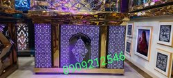 Stainless Steel wedding food counter