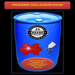 Chequered Tiles Lacquer Polish