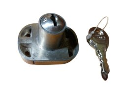 Stainless Steel Drawer Lock, Chrome
