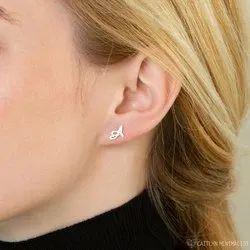 Custom Initials Earrings