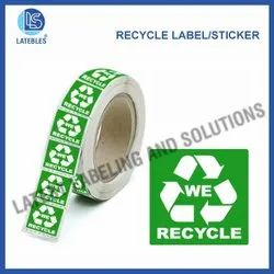Recycable Sticker