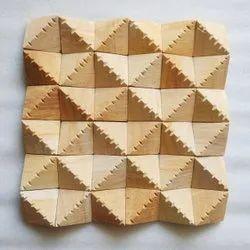 Sandstone Teak Wood Natural Stone Tile, For Interior & Exterior Usage, Thickness: 15-20 mm
