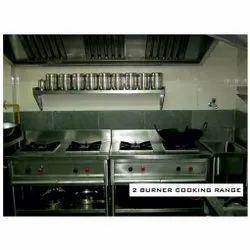 2 Burner Cooking Range
