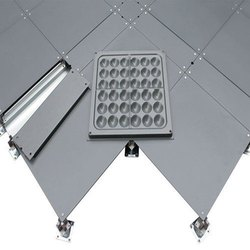 Steel Bare Panel, For Standard, Size: 600mmx600mm