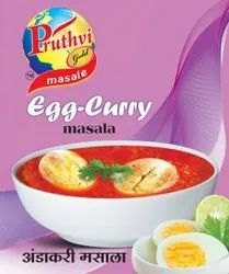 Pruthvi Gold Egg Curry Masala Powder, Packaging Size: 16 gm, Packaging Type: Packets