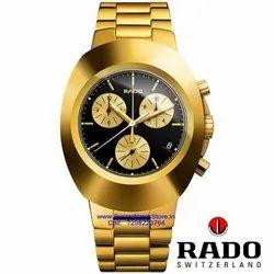 Analog New Rado Watch For Men High Quality with 2 Year Warranty