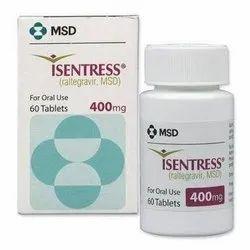 Isentress 400 mg Tablet