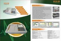 Digital 6 Channel ECG Machine