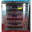 Gas Baking Oven 3 Deck 6 Tray