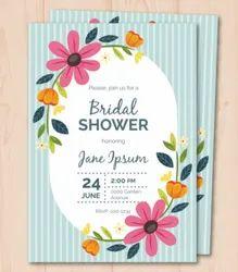 Custom Wedding Invitation Cards, 3 Leaflet
