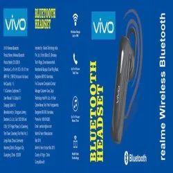 Wireless Black BlanTech Vivo Bluetooth Headset, Bluetooth Version: 4.1, Model Name/Number: Single Earbuds