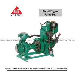 Topland 5hp Diesel Engine Pump Set