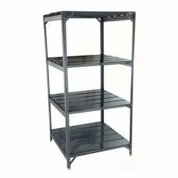 Color Coated MS Slotted Angle Racks