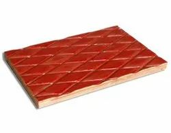 Brown Densified Chequered Plywood, Thickness: 12 Mm, Size: 8*4 Feet