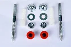 SS Rack Bolt For Wc, For Sanitary Fitting, Size: 15 X 165 mm