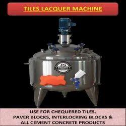 Tiles Lacquer Machine
