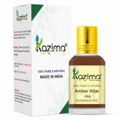 Kazima Pure Natural Undiluted Amber Attar