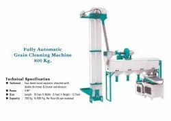 Fully Automatic Grain Cleaning Machine - 800Kg