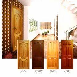 Interior Door Finished Interior Wooden Door