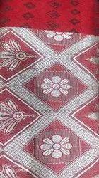 Cotton Red Jacquard Fabric 60